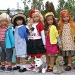 Куклы из новой коллекции Ангелы Саттер