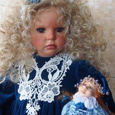 Куклы «Marotte» - погремушки для избранных. Коллекционная кукла Ханна-Роза от Люси Даале. Маротте от Ани Нигматуллиной