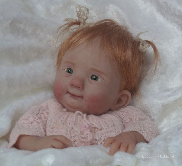 Авторские куклы Kim van de Wetering из фимо