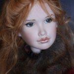 Фарфоровая кукла Lotte от Анджелы и Джона Баркер, 2003