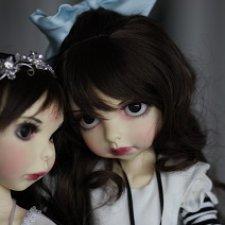 Джулиет  и Алиса. Juliet. Dark Alice. Kim Lasher