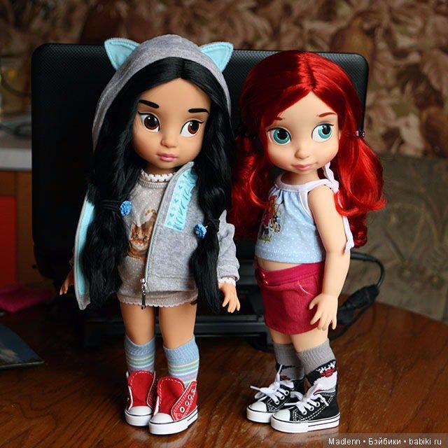 Жасмин и Ариэль