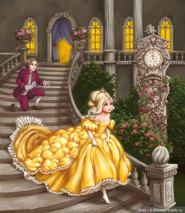 Картинка для сказки золушка