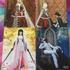Продам комплект открыток с куклами БЖД