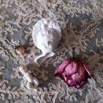 Антикварная кукольная головка, антикварный фарфоровый младенец