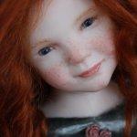 Совсем новая авторская кукла у Elisa Gallea