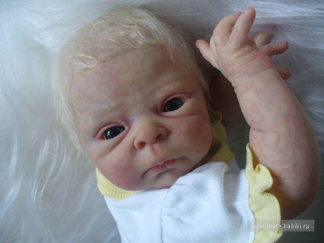 кукла реборн из молда Сэмми