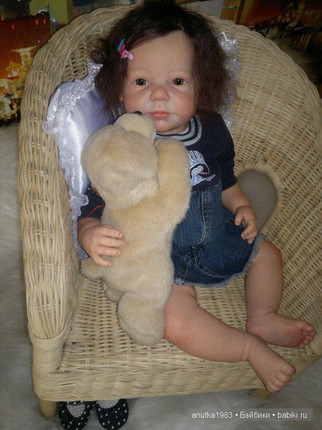 кукла реборн Камилла