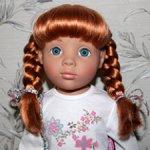 София Gotz 2012 г., ООАК, на классическом теле, глаза голубые.