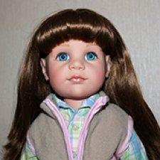 Ханна-наездница Gotz 2011 г., глаза серо-голубые