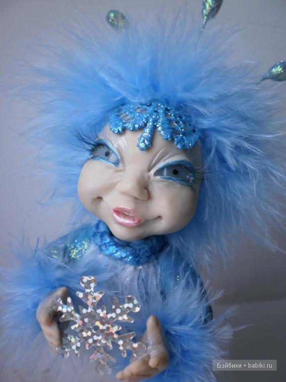 ооак Алёны Новченковой,,авторская кукла