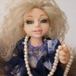 Настенька. Моя первая малявочка. ООАК кукла ручной работы Алёны Новченковой