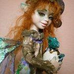Нянька. Авторская кукла