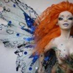 Авторская кукла Каллима. Бабочка
