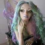 Авторская кукла. Морская звезда