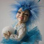 Снежинка-2. Авторская кукла