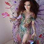 Фея цветов. Авторская кукла