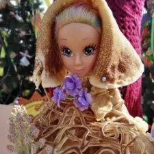 Куколки из блинов