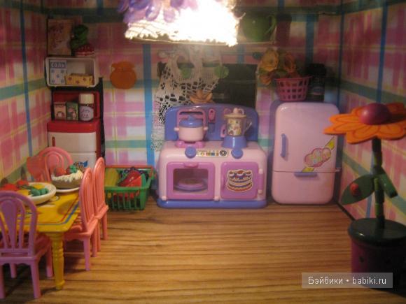 Кукольный домик из пластилина