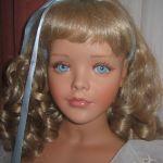 Моя голубоглазая Богиня. Фарфоровая кукла от Сандры Бабин (Sandra Babin)