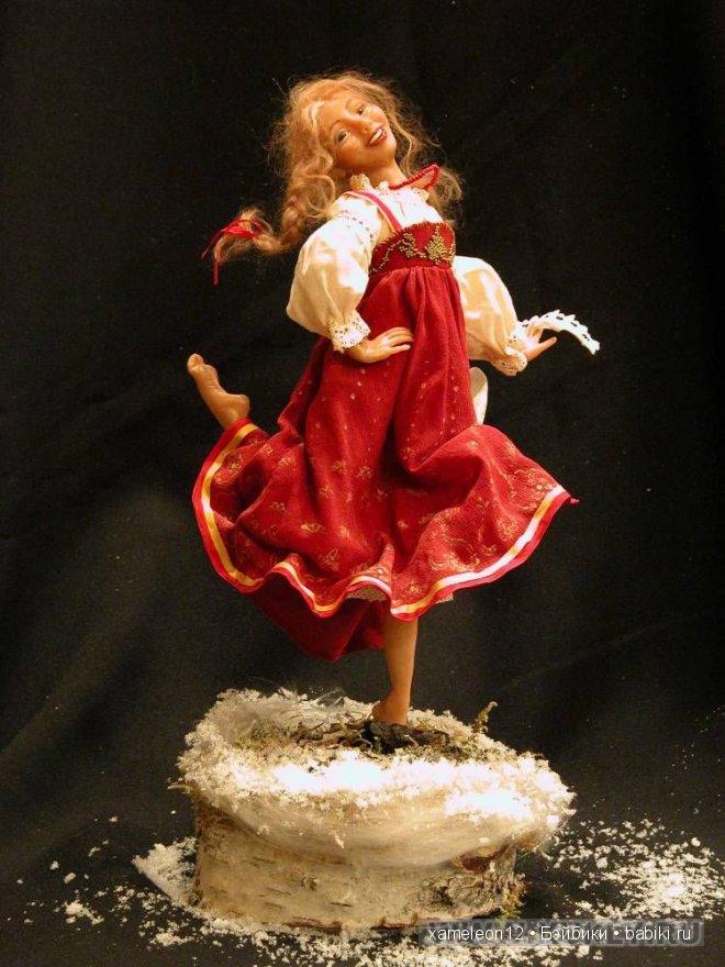 Авторские куклы Ольги Глоба