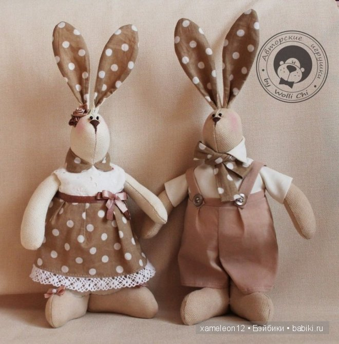 Кролик своими руками мастер класс