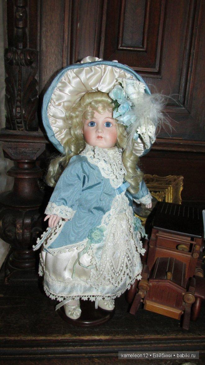 Фарфоровая Дама со старинного портрета, Мэрис Николь