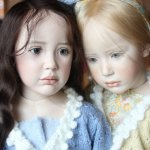 Самые живые куклы Jeanne Gross dolls