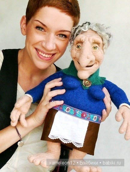 Авторские куклы из войлока Bea Brodka dolls