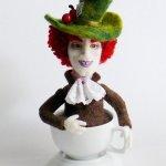Валянные куклы из шерсти Bea Brodka dolls, Польша