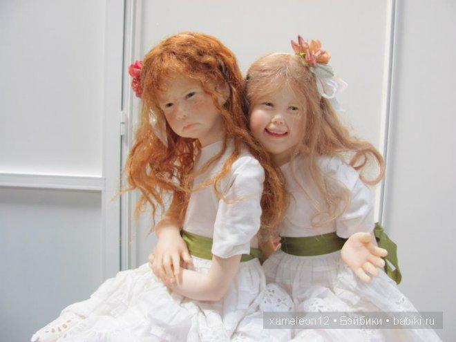 Уникальные солнечные куклы-детки от Laura Scattolini