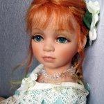 Нежнейшее создание, фарфоровая кукла от Сью Линг Ванг
