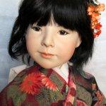 Нежная Miko, фарфоровая кукла от Marilyn Bolden