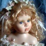 Нежная Тифани, фарфоровая кукла от Karen Alderson