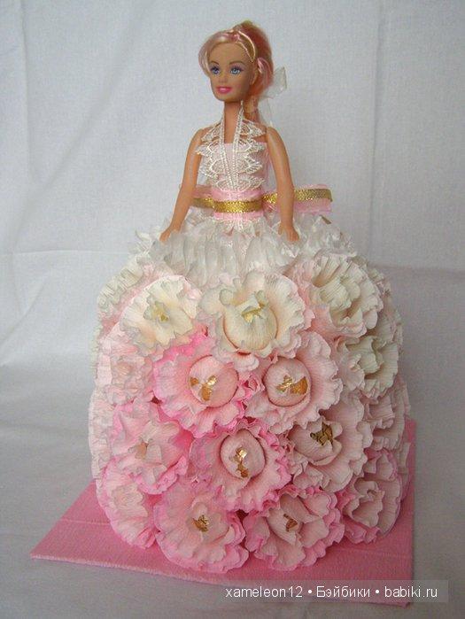 Кукла и конфеты своими руками 394