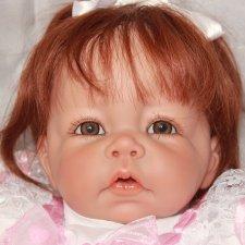 Девочка Анжелика. Кукла-реборн.