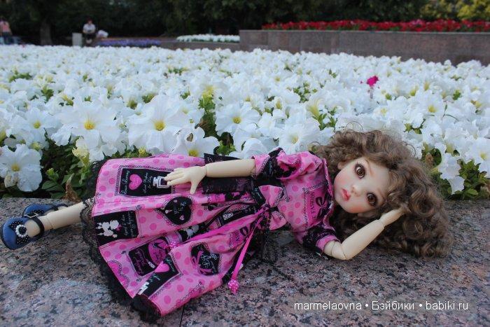 Мей Мей заскучала. Шарнирная кукла BJD Kaye Wiggs