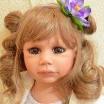 Наша светлая, нежная девочка Паула. Кукла Регины Свиалковски
