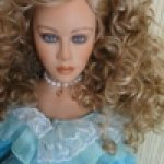 Я синеглаза,светлокудра... Гвендолин, фарфоровая кукла Томаса Бейкера (Thomas Baecker)