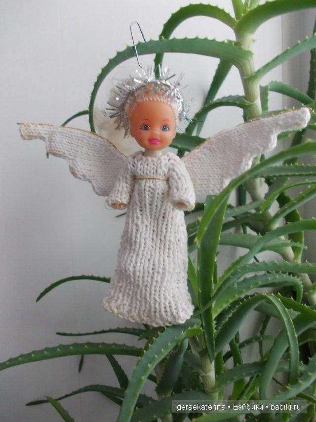 Ангелочек своими руками на ёлку 55