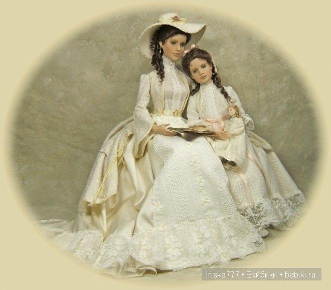 Авторские куклы  Charil Crawfard