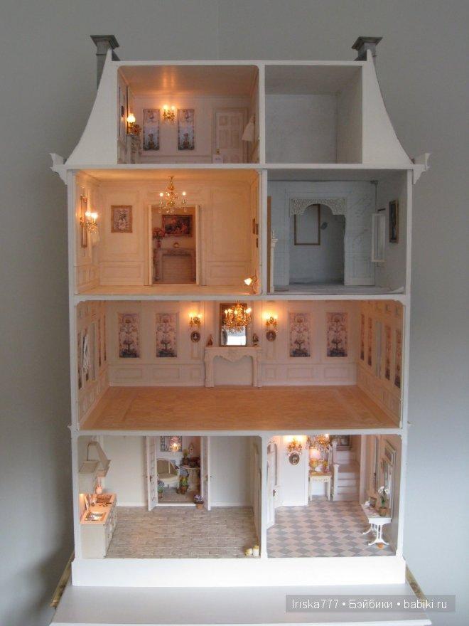 Кукольный домик 1 12 своими руками