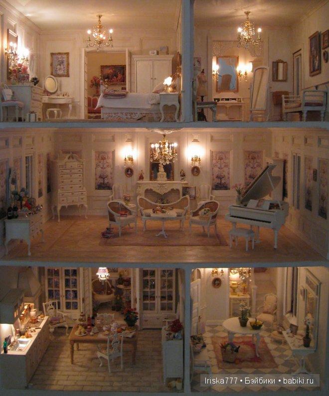 Удивительный кукольный дом в масштабе 1:12