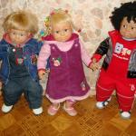 Мои любимые куклы: Роби, Рио и Рози