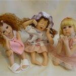 Утро после праздников. Куклы Laura Lee Wambach
