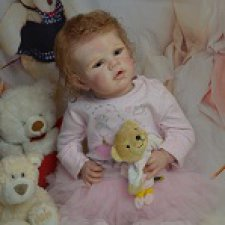 Ангелина. Кукла реборн Елены Померанцевой