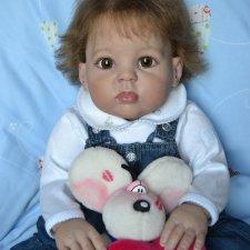 Малышка из молда Cuddles by Donna RuBert. Куклы реборн Прохоровой Виктории