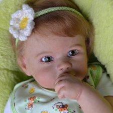 Малышка позитивчик Диди. Куклы реборн Прохоровой Виктории