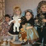 Мои замечательные девчушки автора Донны Руберт от фирмы ArtistaDolls