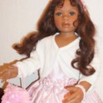 MARI - юная Леди  из высшего общества, фарфоровая кукла от Pamela Erff